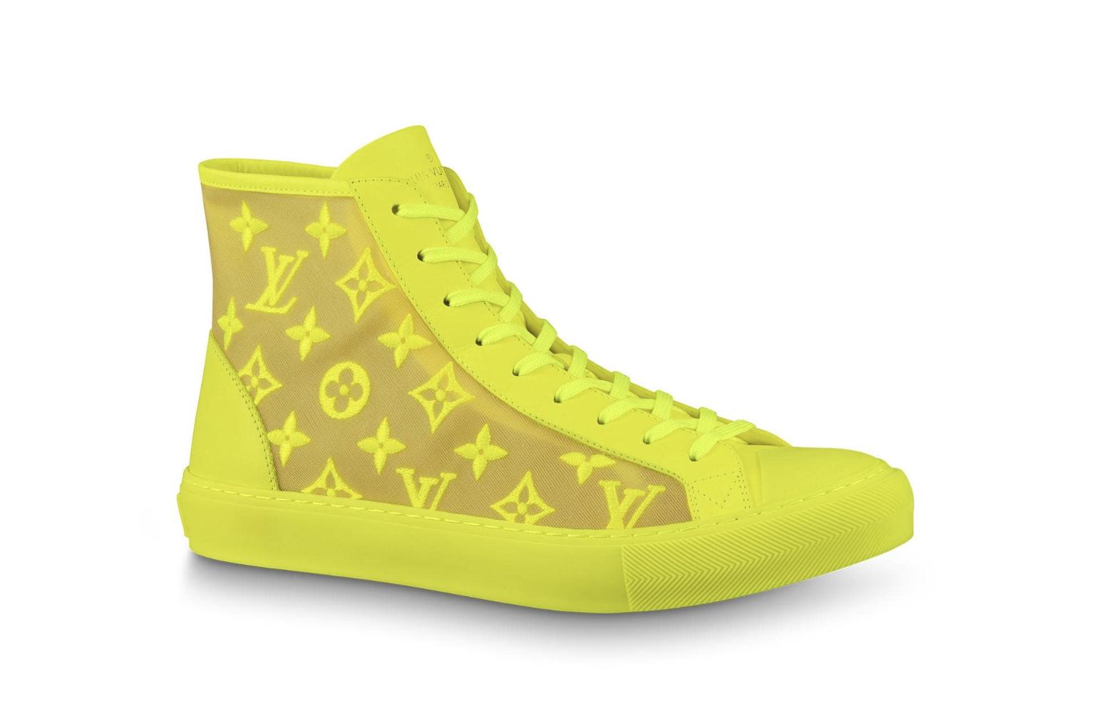 Louis Vuitton Tattoo Sneaker Jaune - 1A5S1G