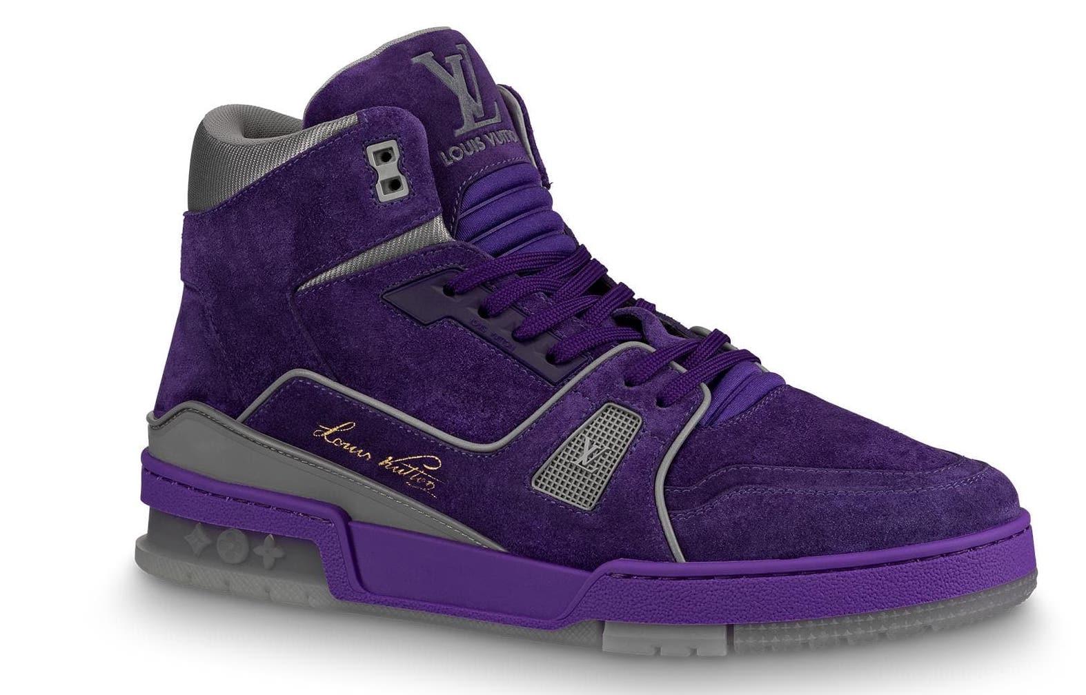 Louis Vuitton Trainer Purple - 1A5DUB