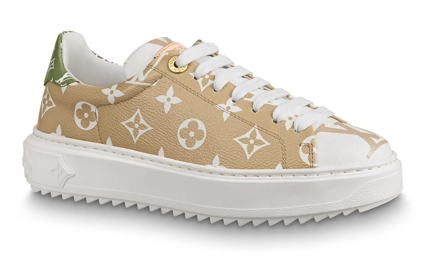 6eb51d0b83 Trainer Time Out Monogram Blanc (W) in Beige