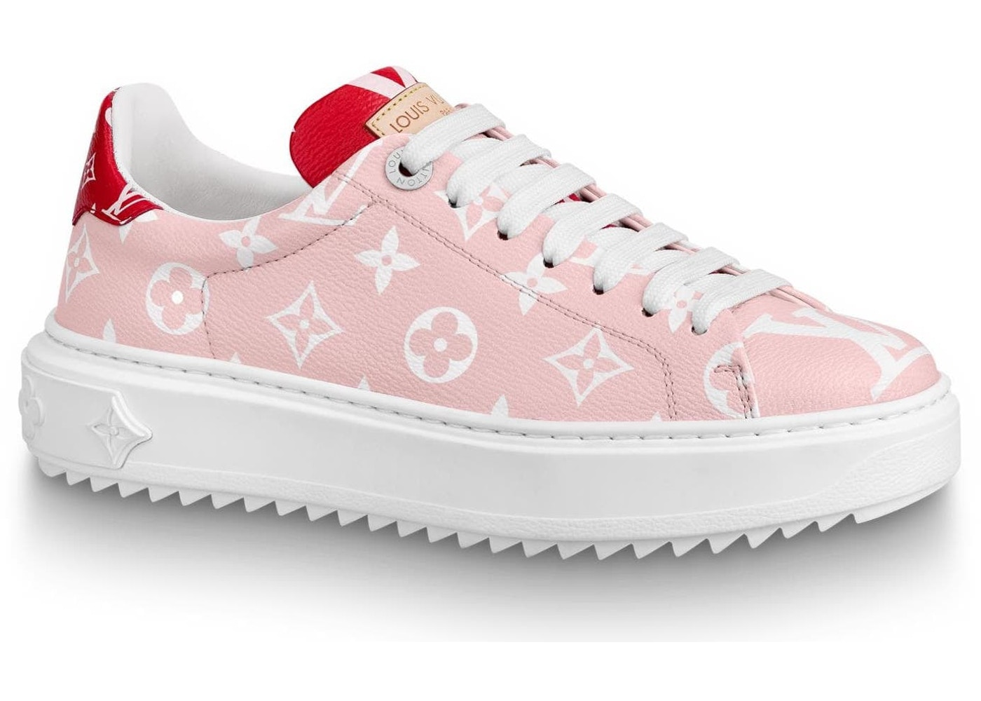 23aeebcf13 Louis Vuitton Trainer Time Out Monogram Pink (W)