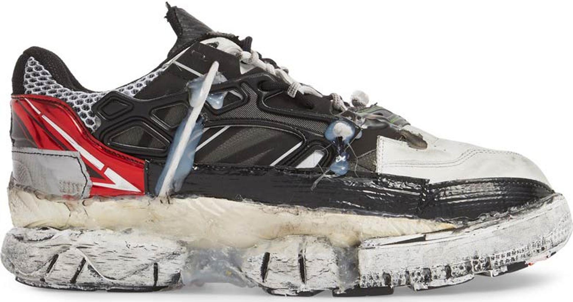 Maison Margiela White & Black Fusion Sneakers