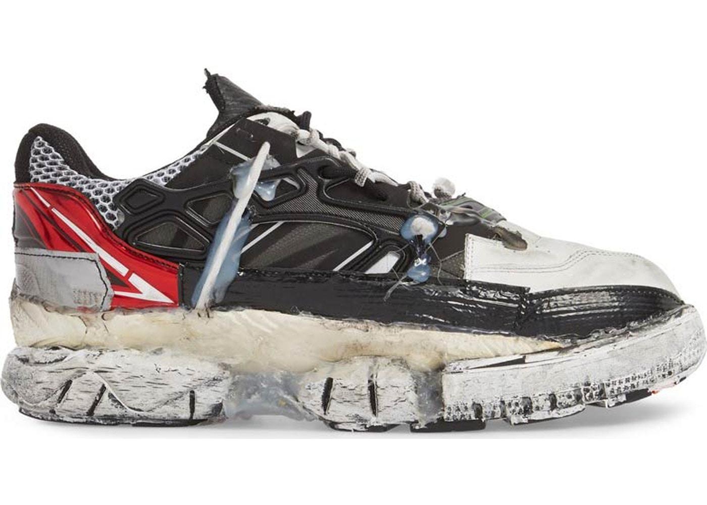 Maison Margiela White & Black Fusion Sneakers EcvVLBtdn