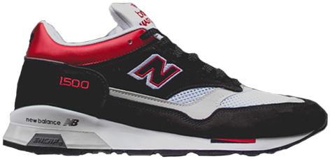 New Balance 1500 Black Red Reissue