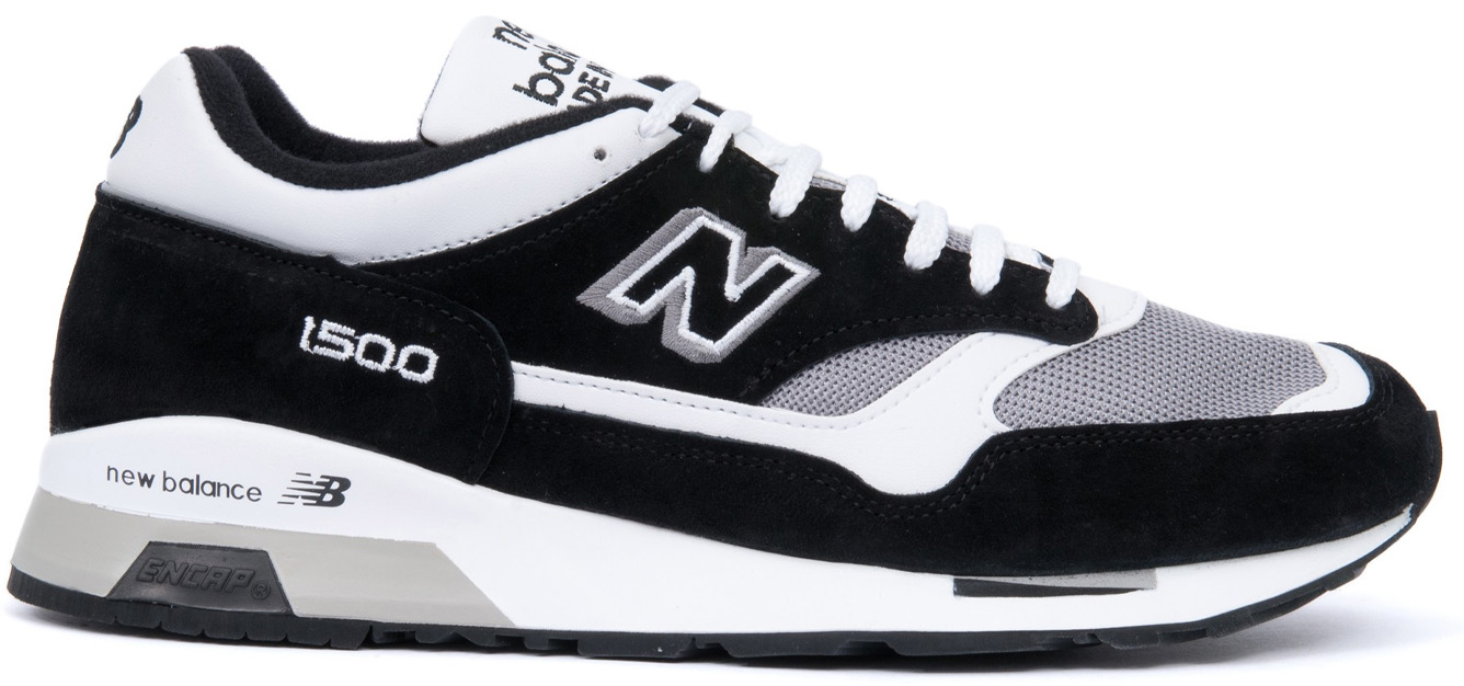 New Balance 1500 Black White Grey