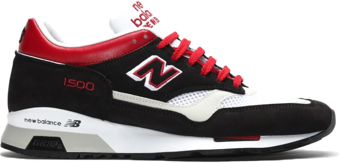 New Balance 1500 Black White Red - M1500BWR