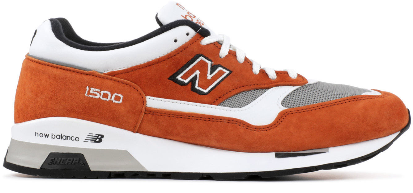 new balance brown orange
