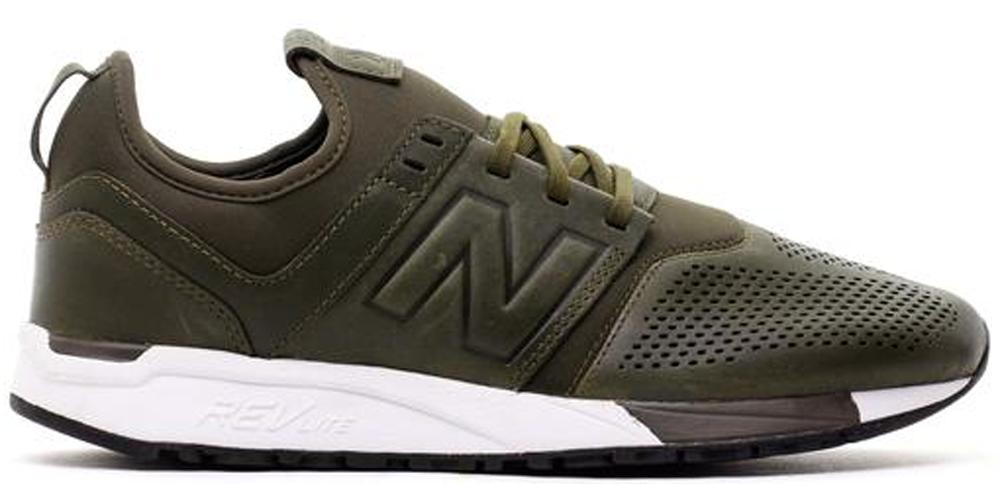 New Balance 247 Leather Olive - MRL247NO