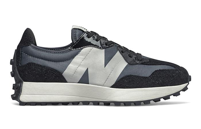 New Balance 327 Black Grey (W) - WS327SFC