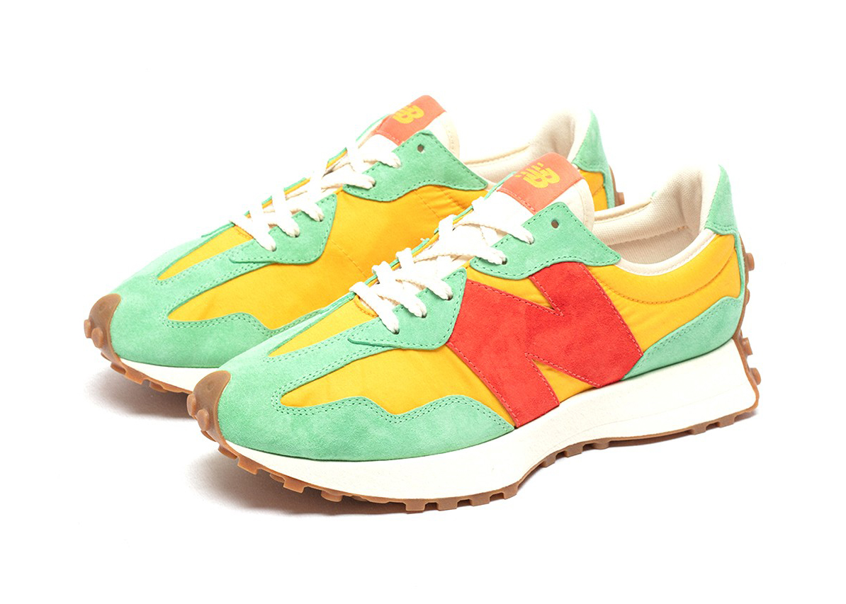 New Balance 327 size? Red Yellow Green