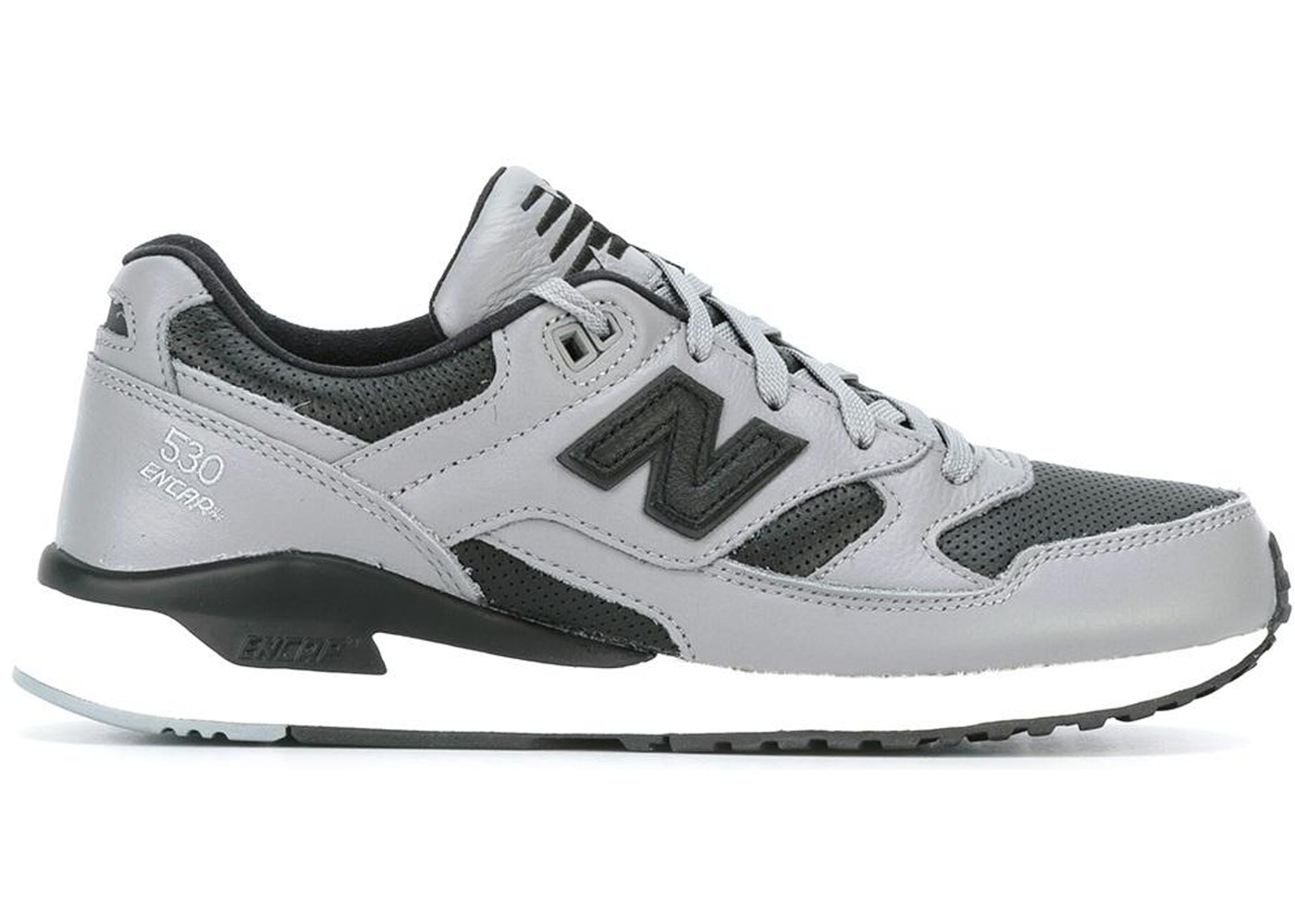 order new design meet New Balance 530 Lux Leather Steel Grey Black