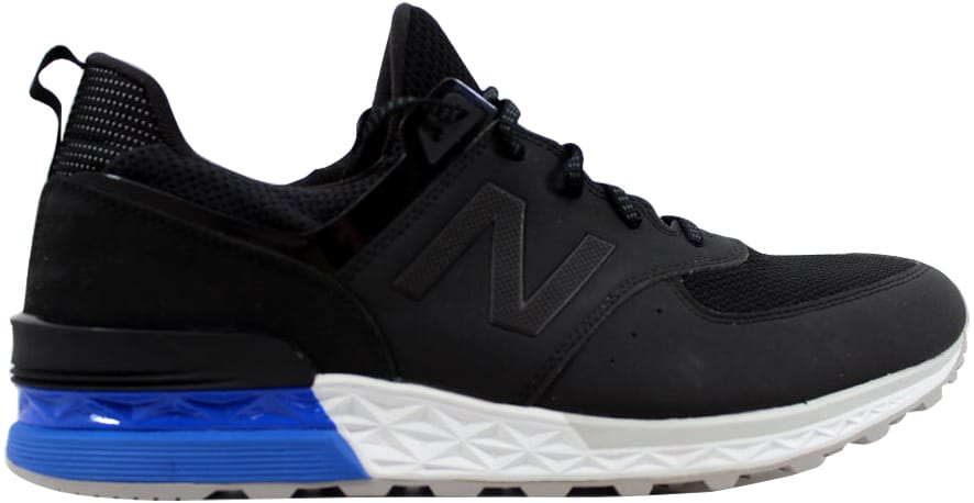 new balance 574 blue and white