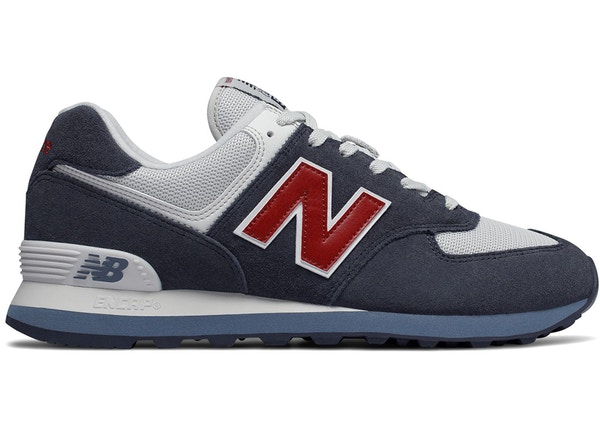 New Balance 574 Classic Core Plus Navy Red - ML574ESC