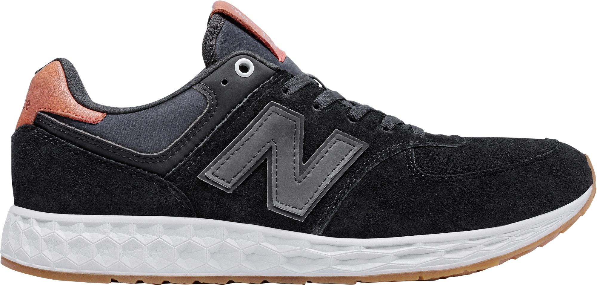 New Balance 574 Fresh Foam Black Grey