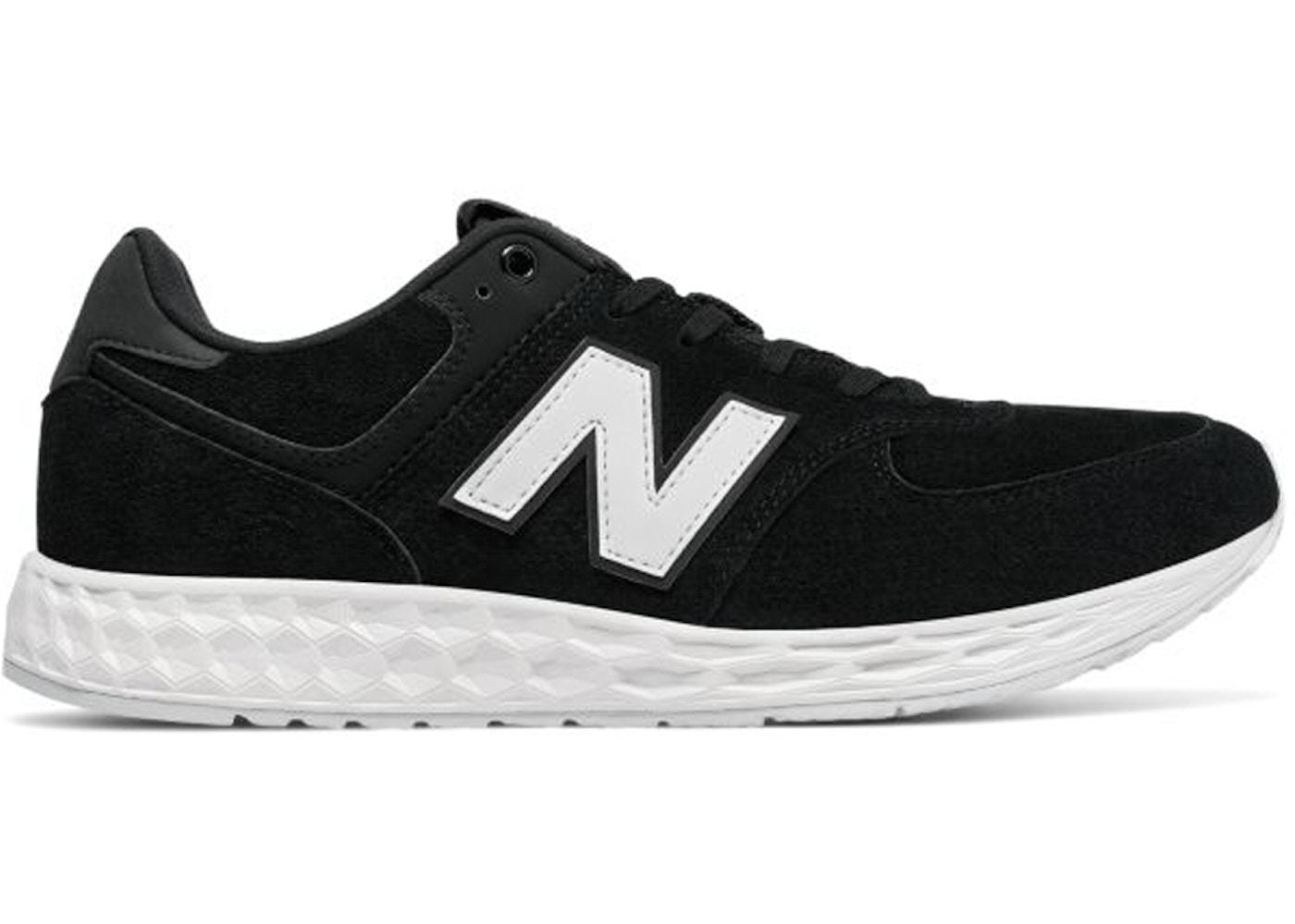 new product a0395 3b17e New Balance 574 Fresh Foam Suede Black White