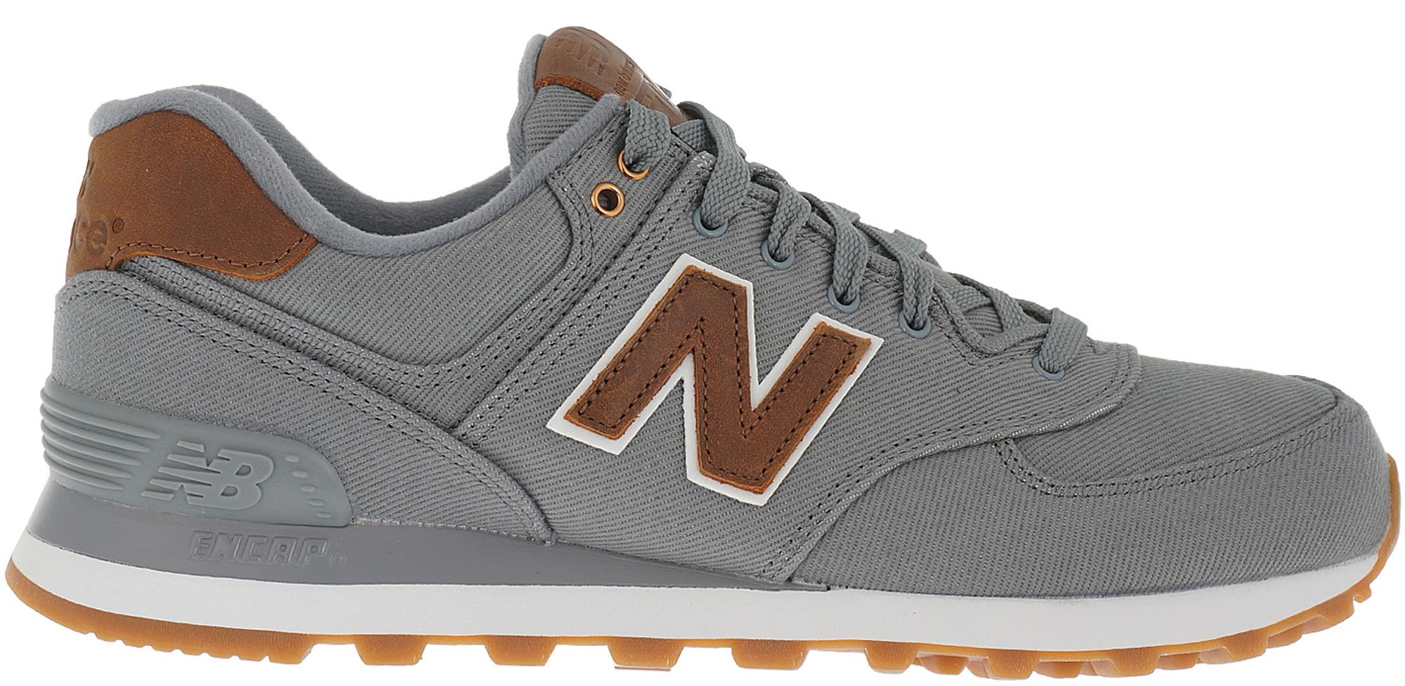 new balance grey brown