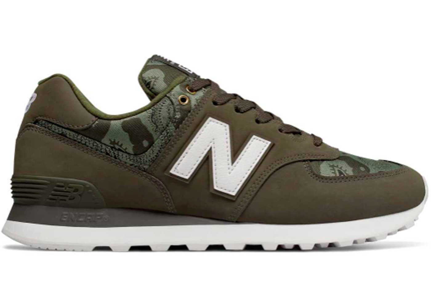 biggest discount new high release date: New Balance 574 Paisley Camouflage