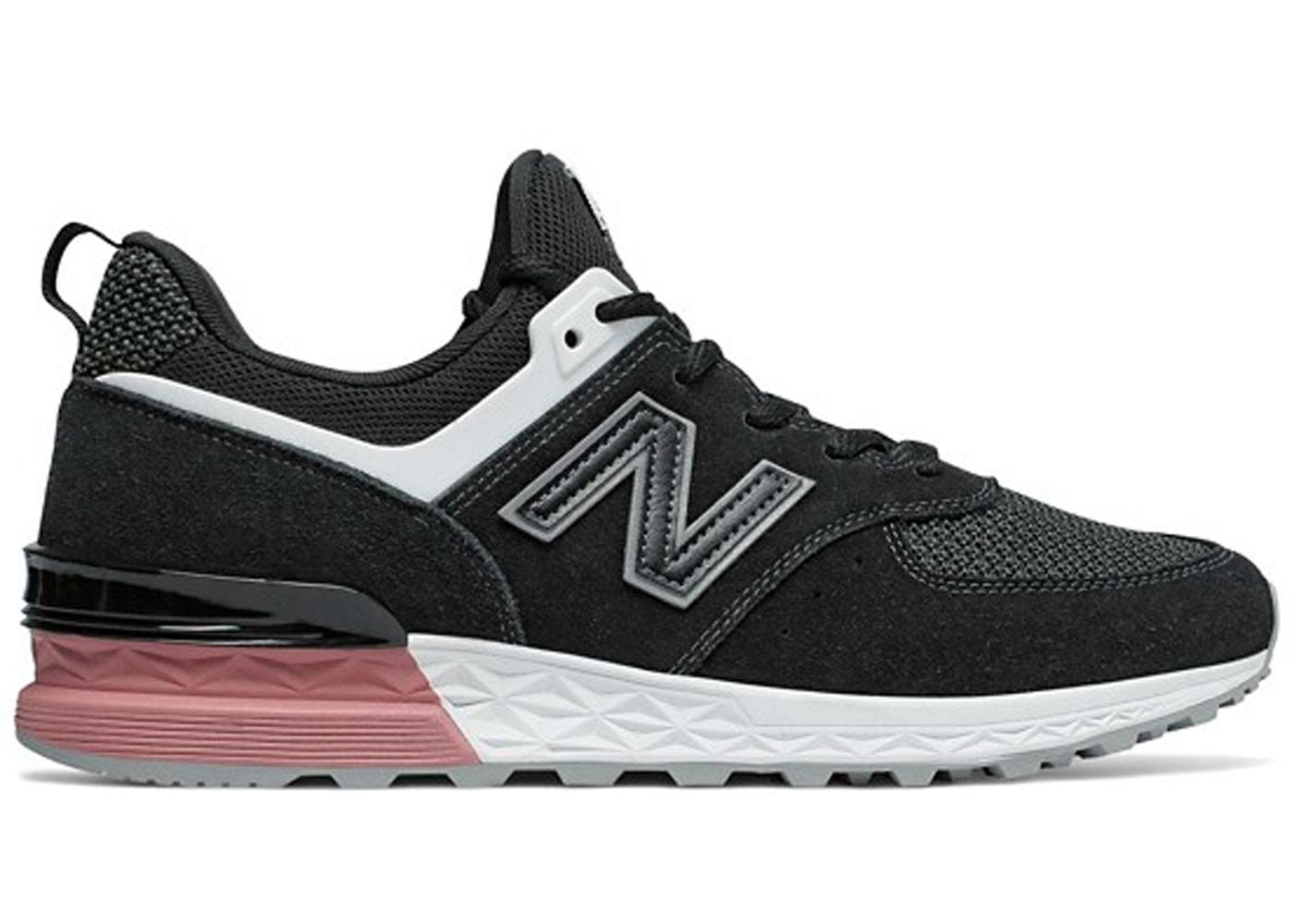 size 40 3e4bc 7039e New Balance 574 Sport Black Dusty Peach