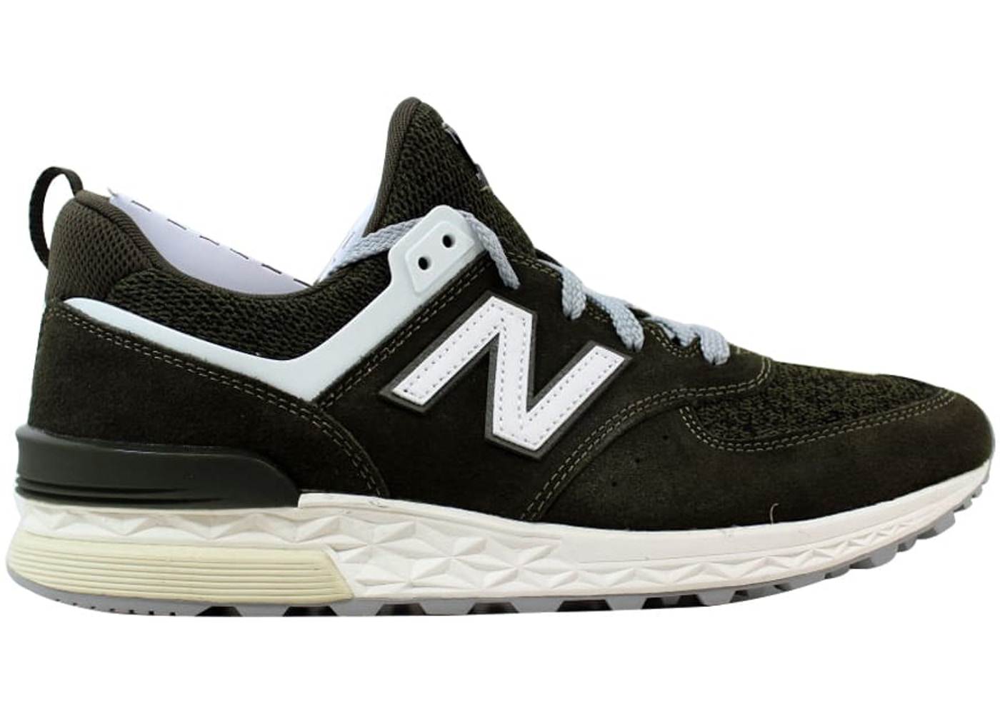 new products 7cdd9 ebfcf New Balance 574 Sport Green/White
