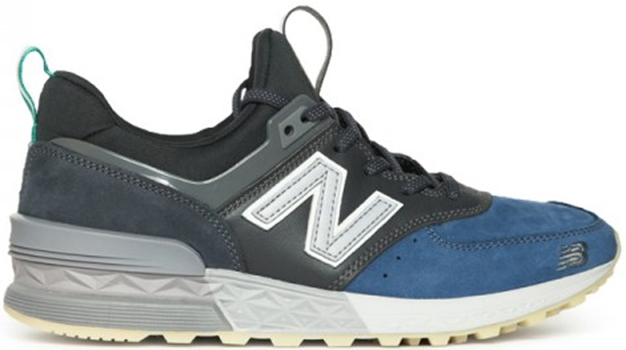 New Balance 574 Sport Mita Black Blue Grey