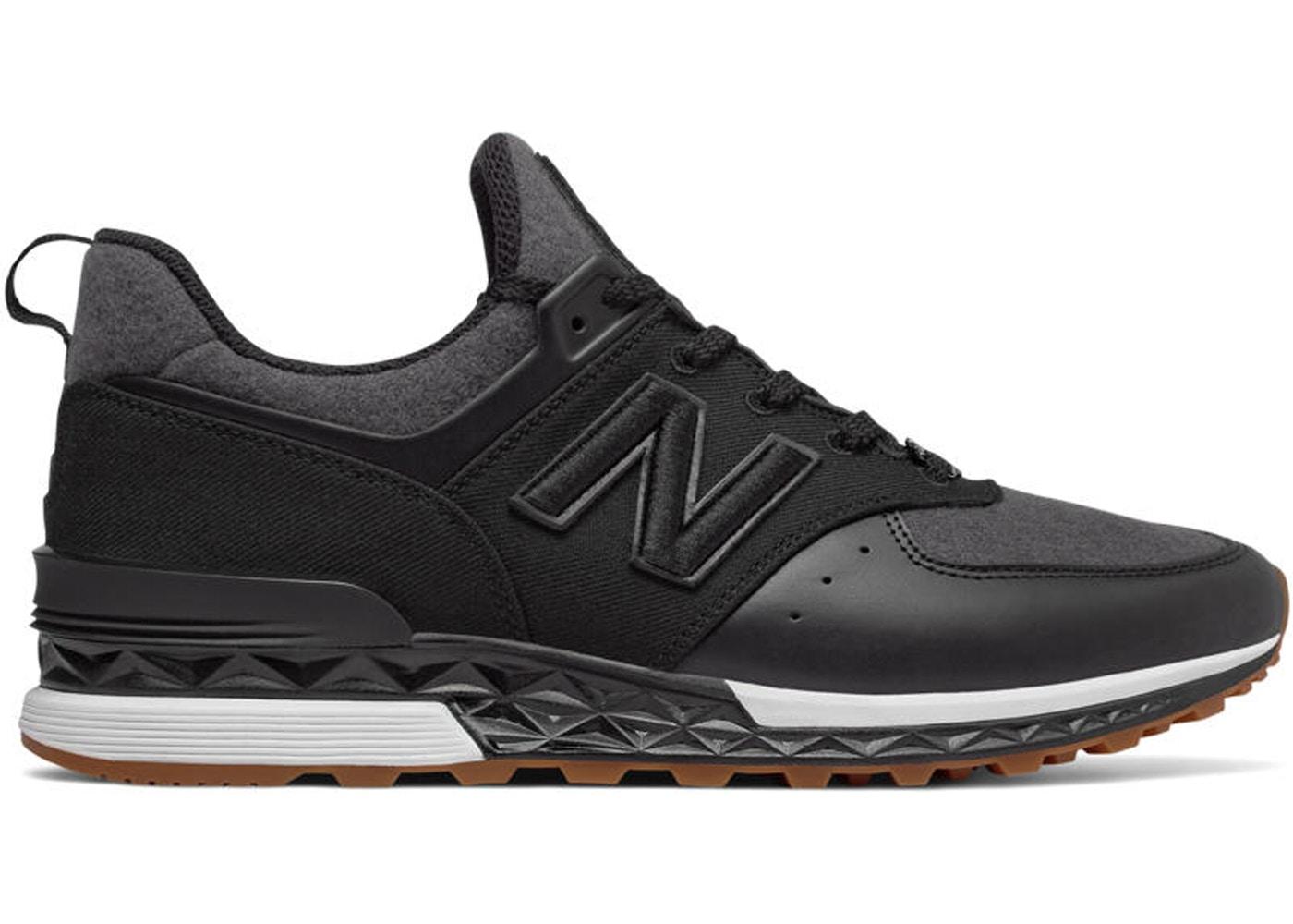 new balance black 574