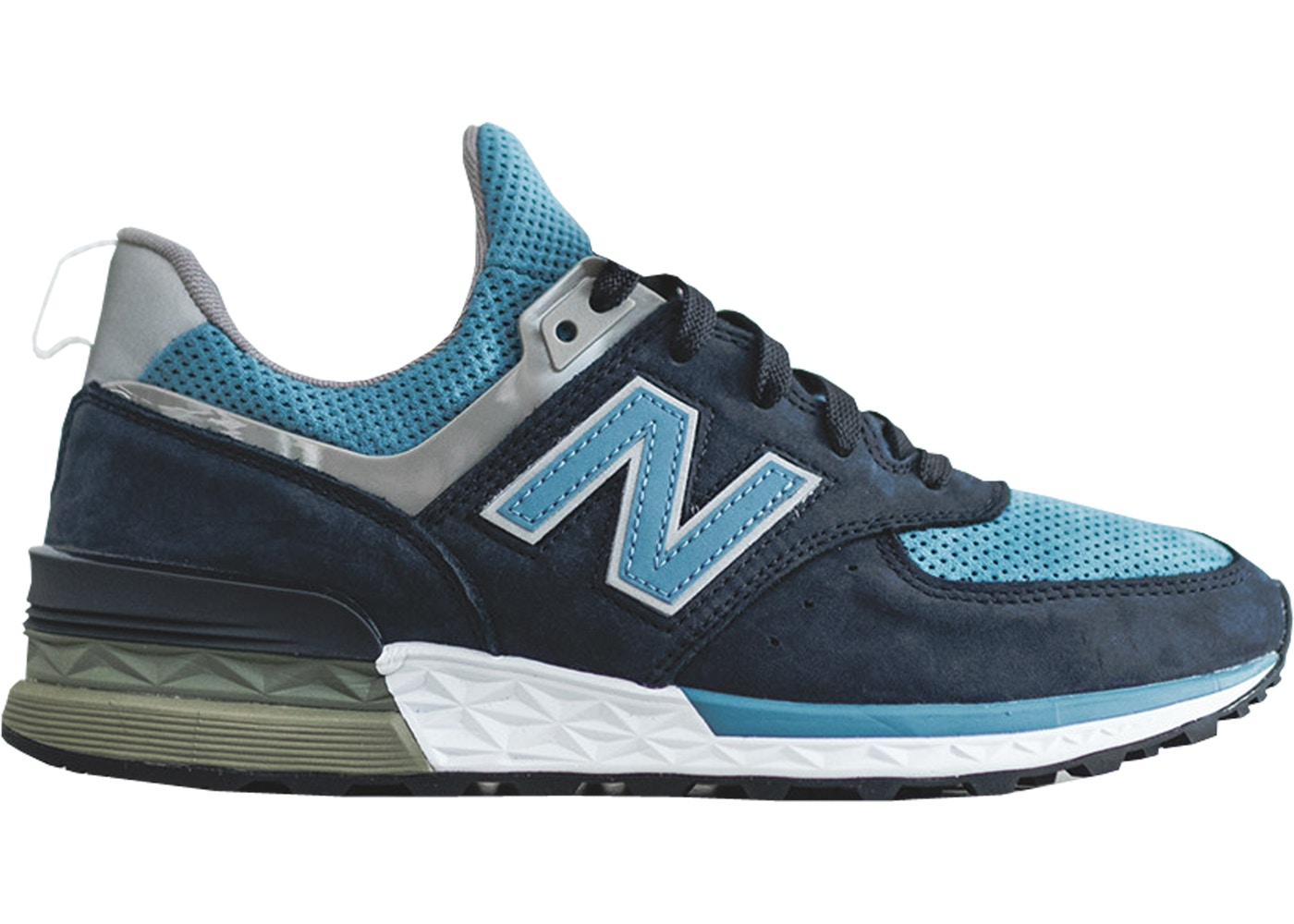 differently 1dfd1 e0cf1 New Balance 574 Sport Ronnie Fieg X DSM Navy (Special Box)