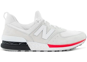 brand new 520ef 19252 New Balance 574 Sport White Red