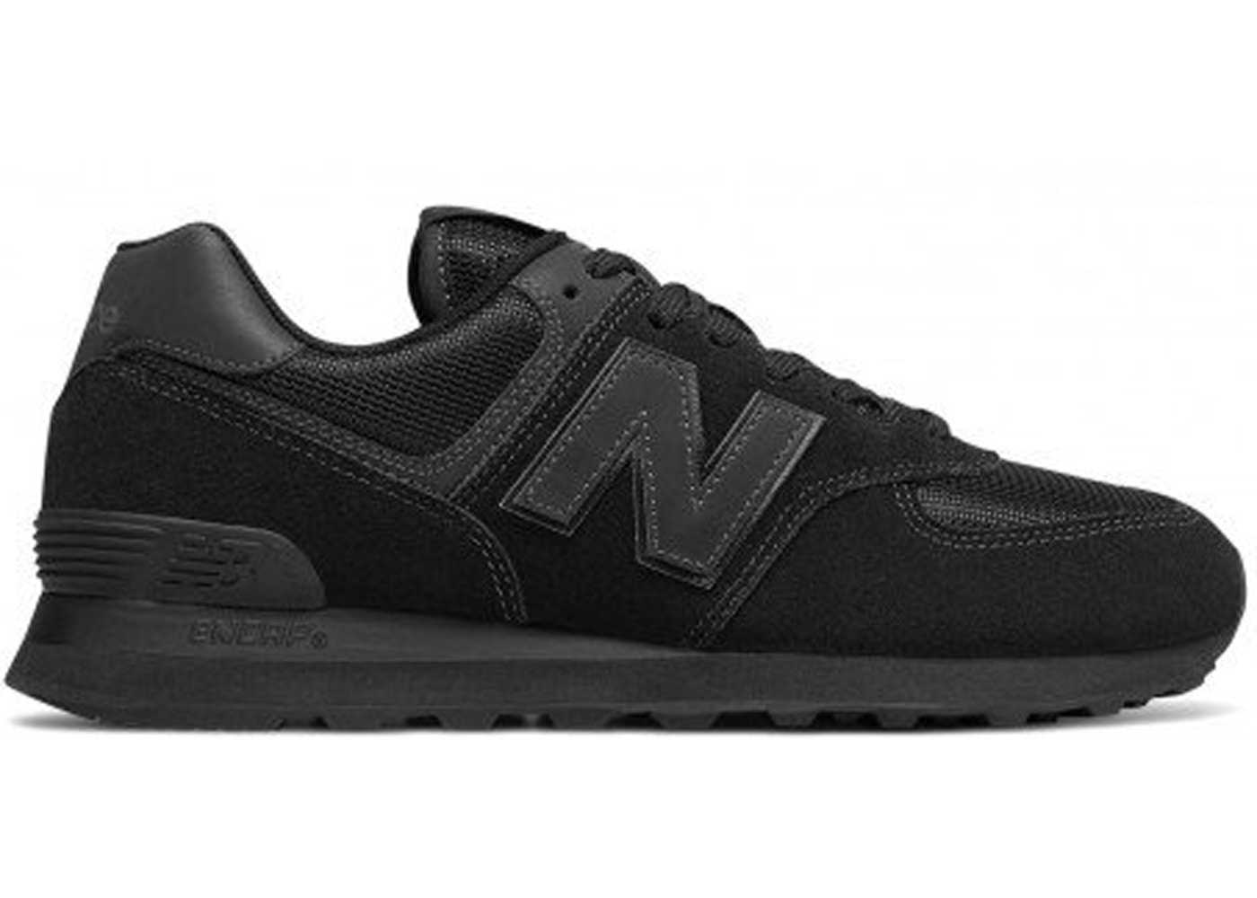 huge discount 2bda4 d6bd8 New Balance 574 Triple Black