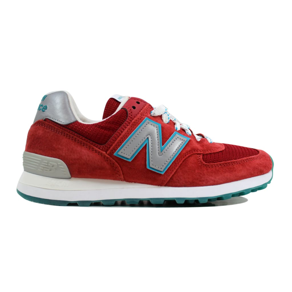 best sneakers 45284 5594c 574 Usa Red in Red/White-Silver-Blue