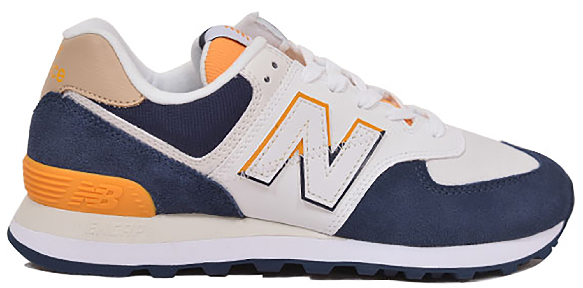 new balance 574 all yellow