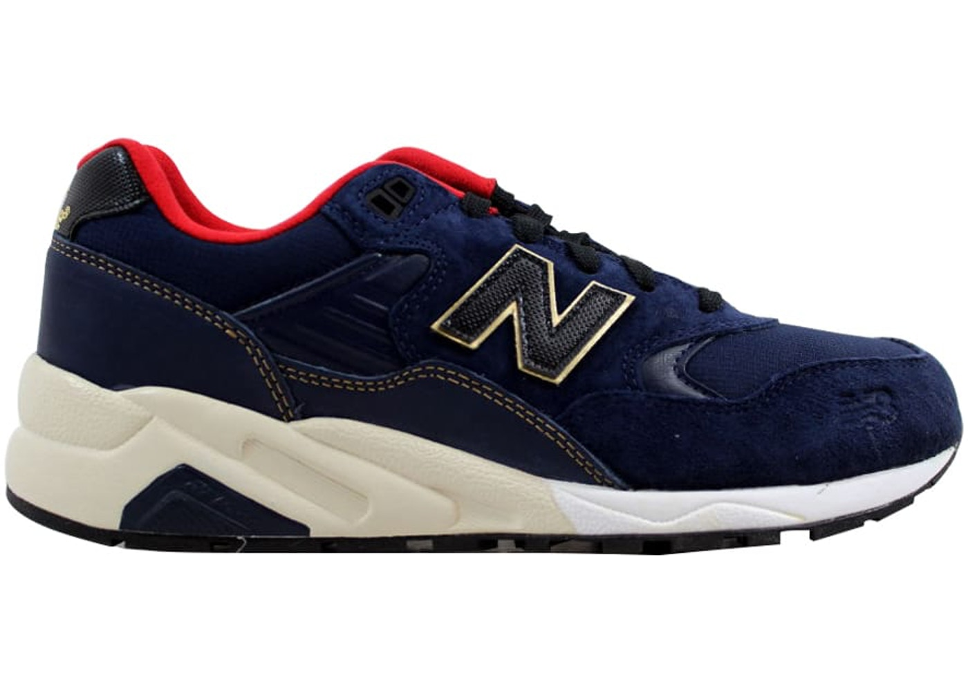 new product 27ef9 e21aa New Balance 580 Elite Navy/Red-White