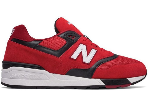 separation shoes c635d 139d3 New Balance 597 Red