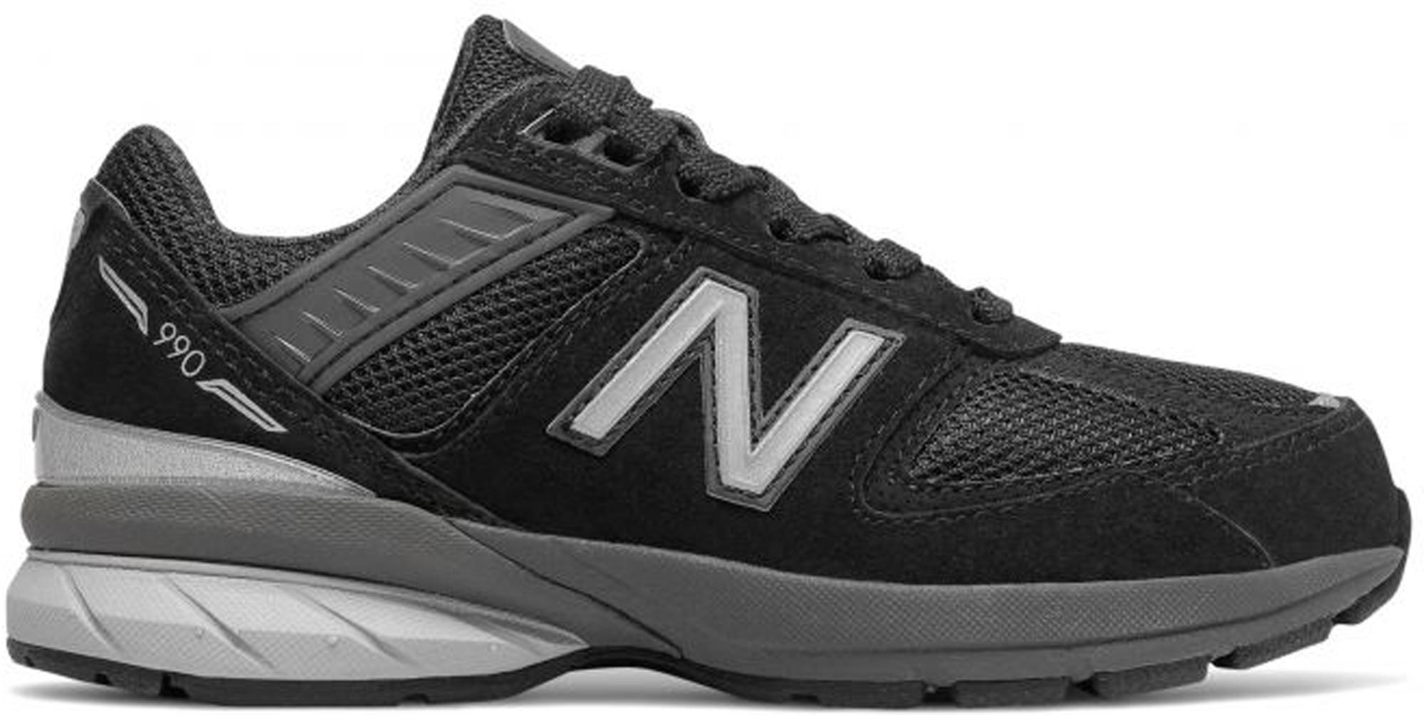 New Balance 990 v5 Black (PS) - PC990BK5