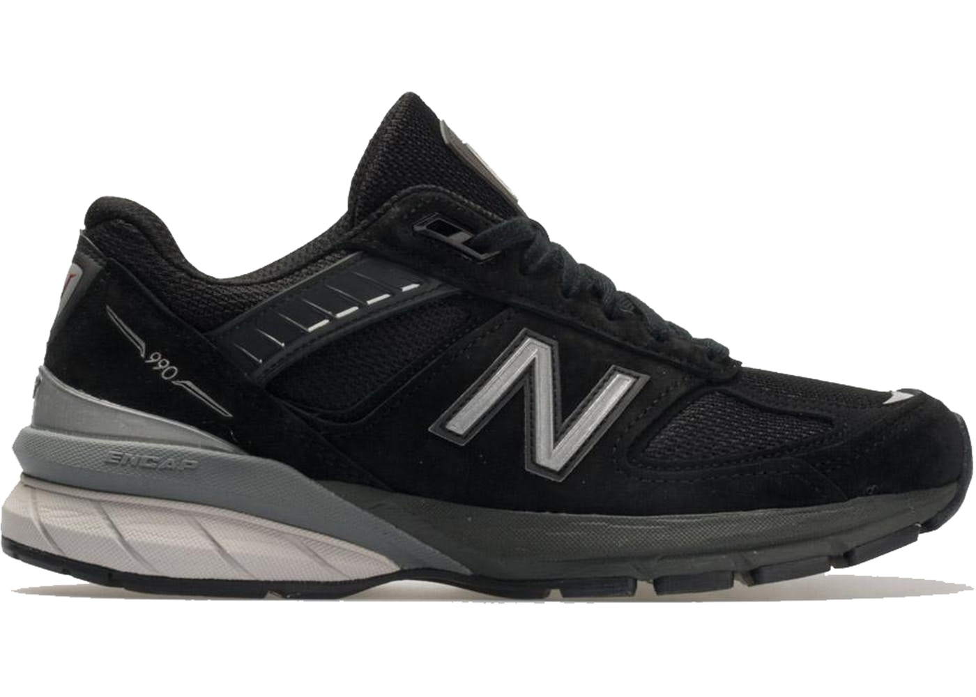 cfee73e12046 Sell. or Ask. Size --. View All Bids. New Balance 990 v5 Black ...