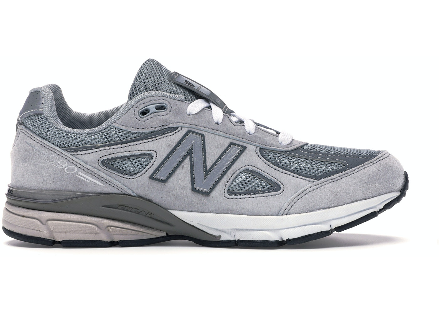best service 50507 81ef8 New Balance 990v4 Grey (GS)