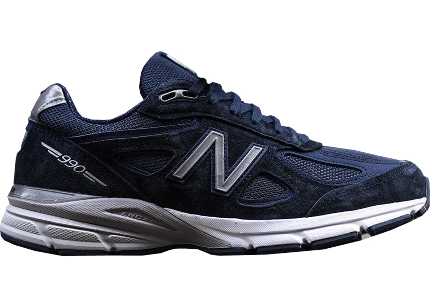 big sale 6c1ec b7c09 New Balance 990v4 Kith Navy