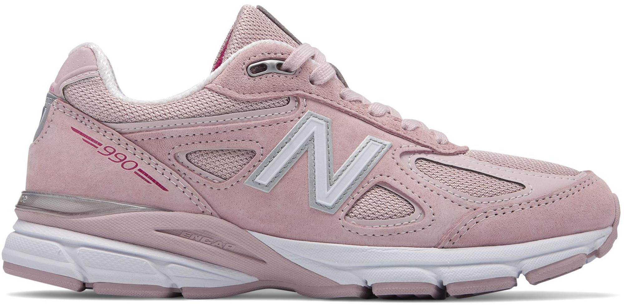 New Balance 990v4 Pink Ribbon Faded
