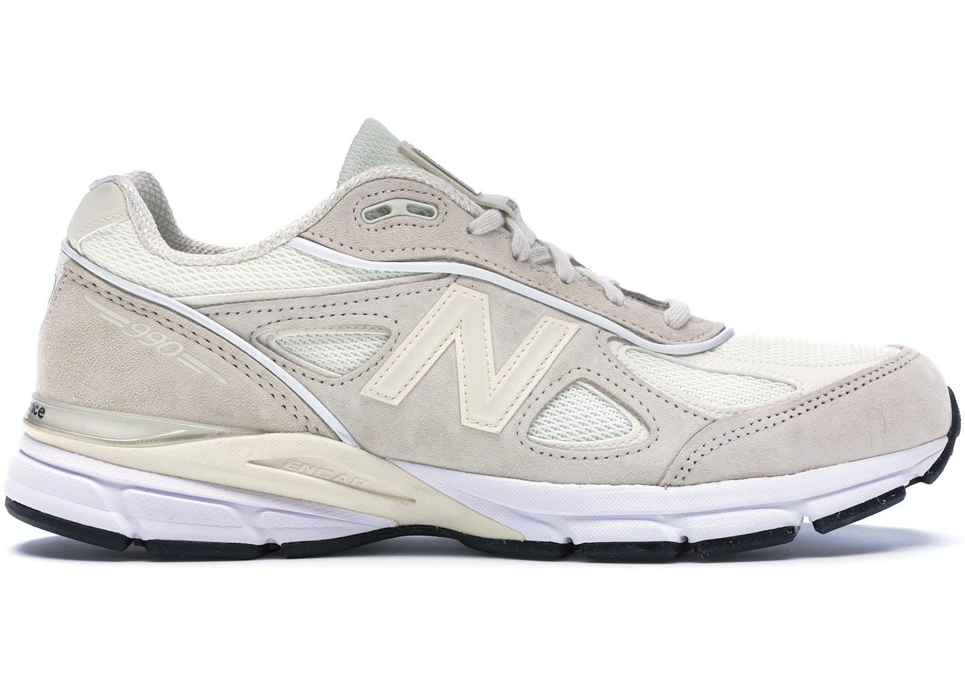separation shoes c5697 e9612 New Balance 990v4 Stussy Cream