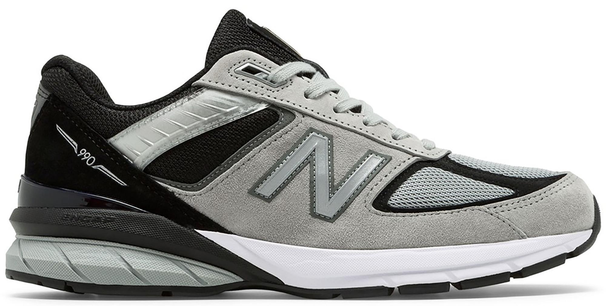 New Balance 990v5 Kool Grey Black - M990GB5