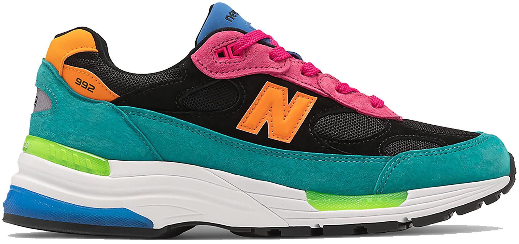 New Balance 992 Black Multi - Sneakers