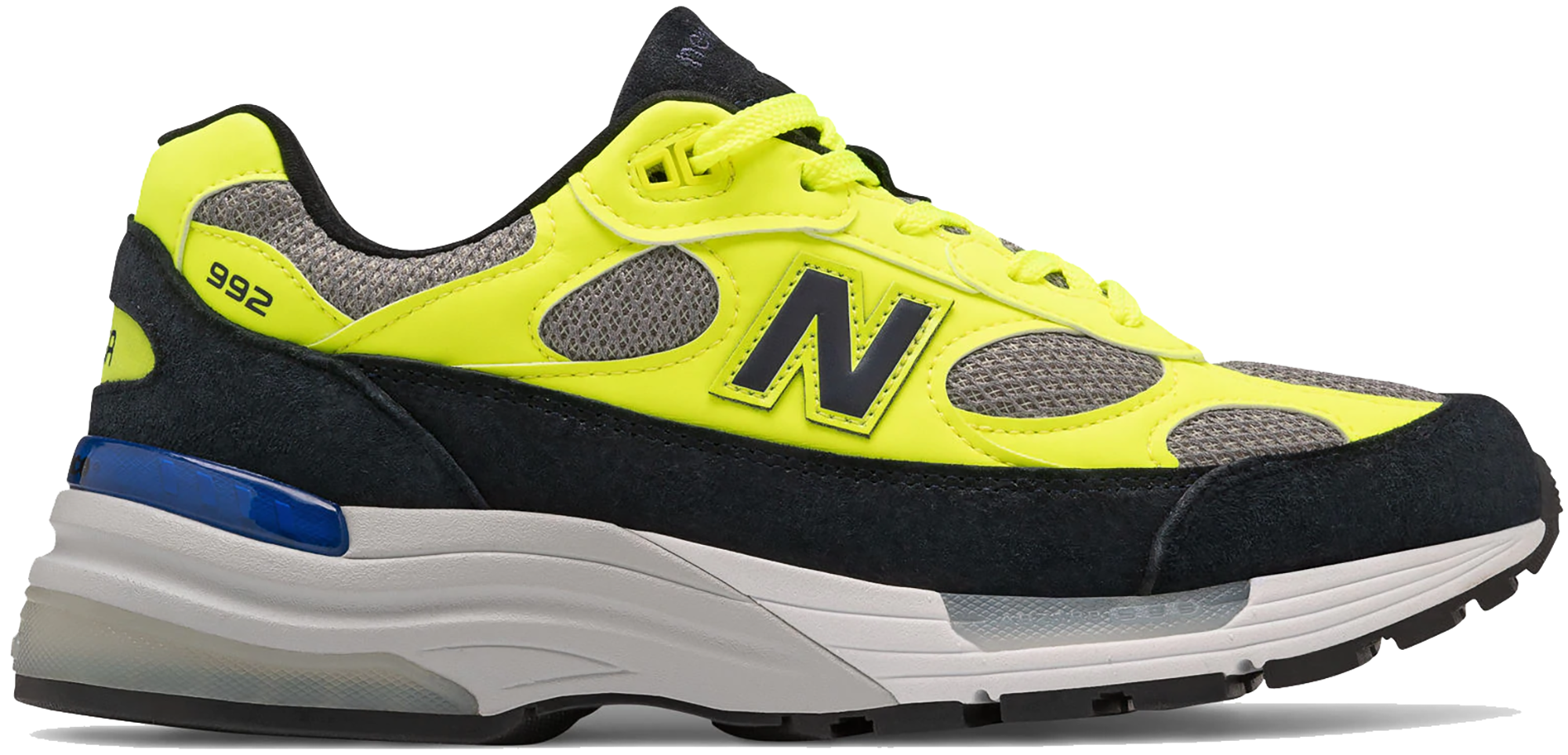 New Balance 992 Neon Yellow Black - M992AF