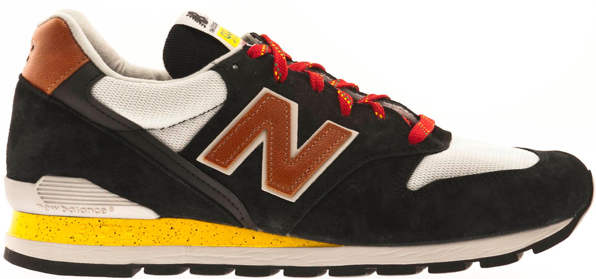 New Balance 996 Black Brown Yellow - M996BS
