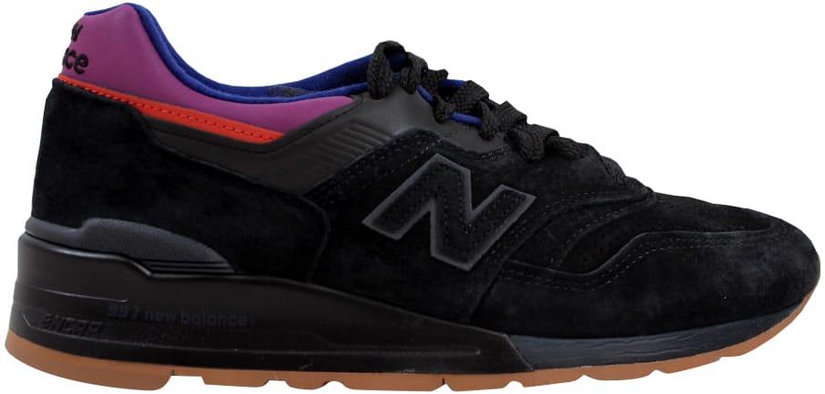 new balance 997 triple black