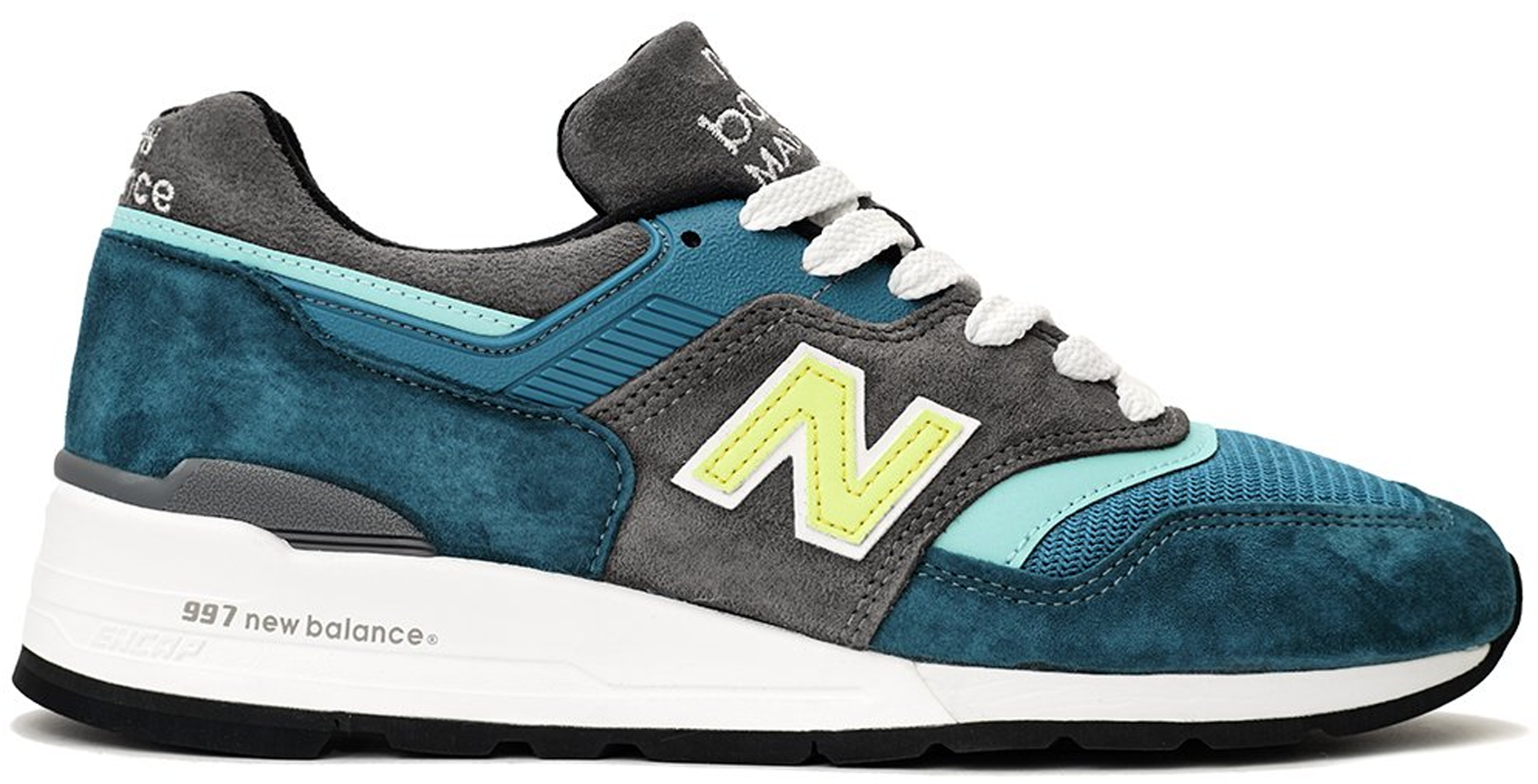 new balance blue and green