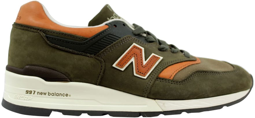 997 Made In USA Green/Orange