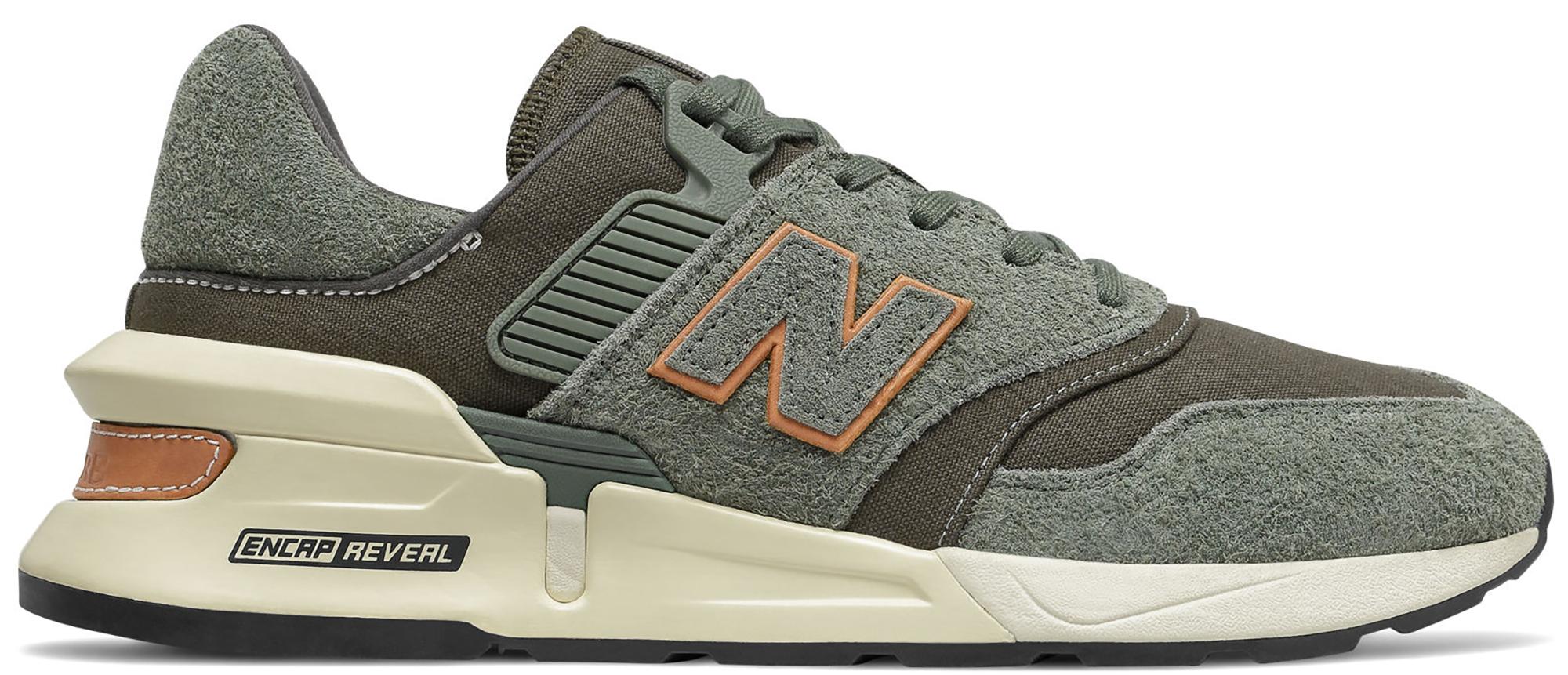 New Balance 997 Sport Slate Green Camo