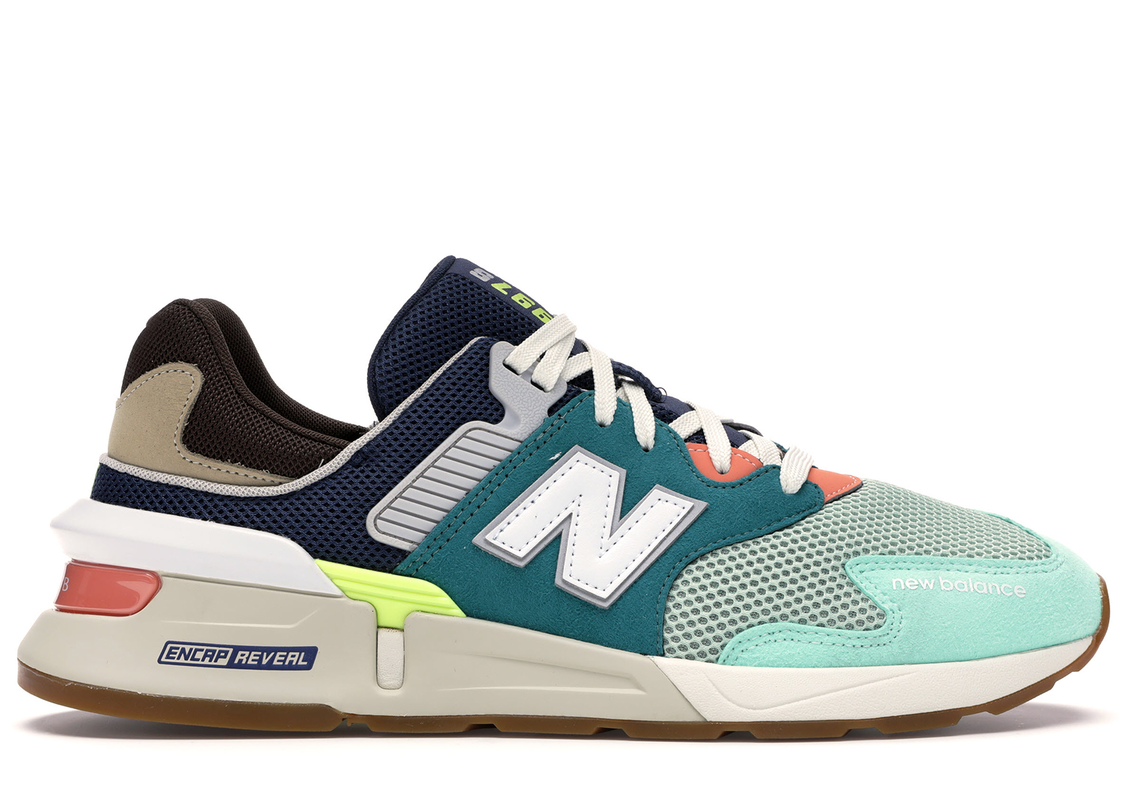 New Balance 997 Sport Teal Brown