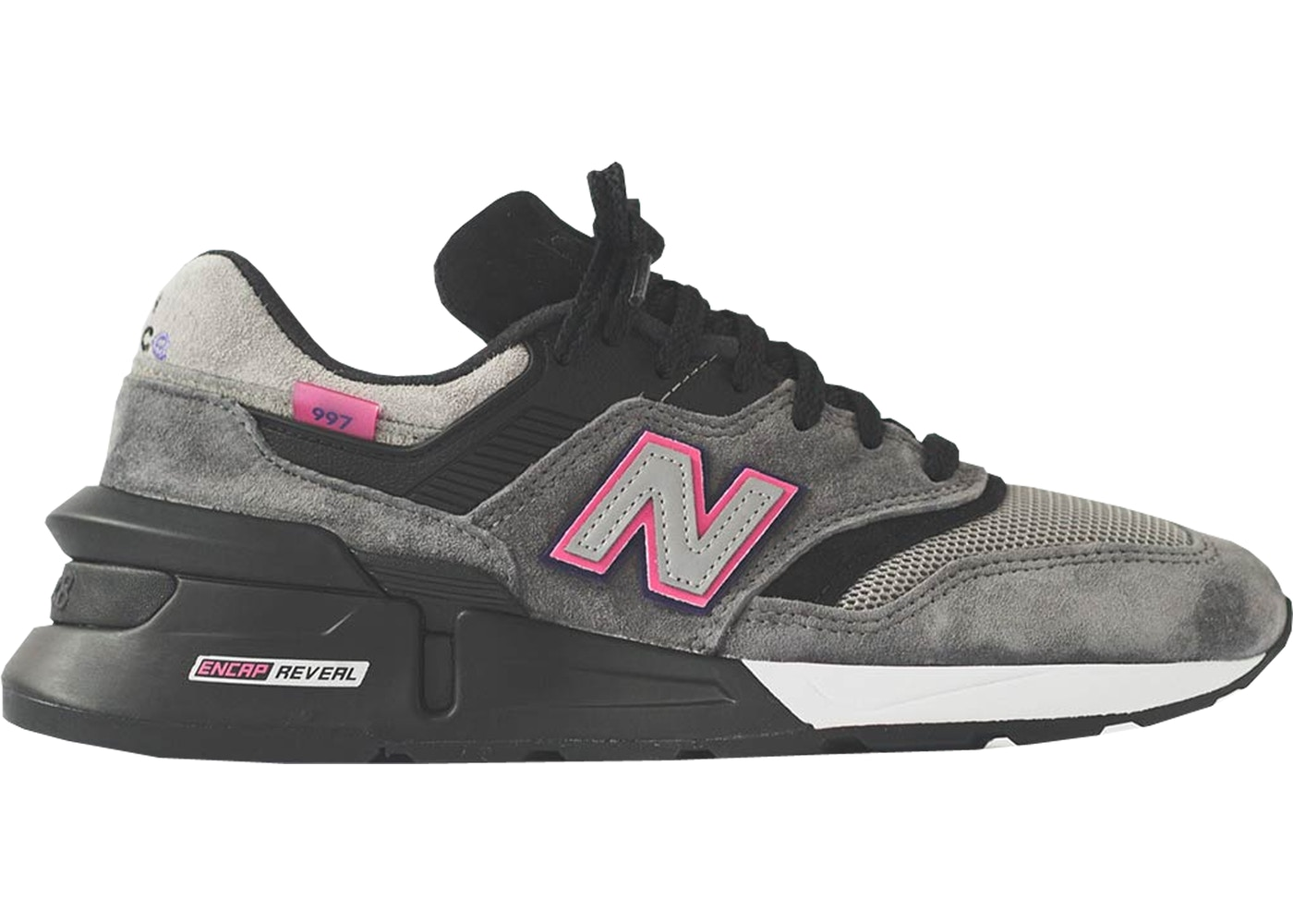 newest 30093 91910 New Balance 997S Fusion Kith x United Arrows and Sons Grey Pink