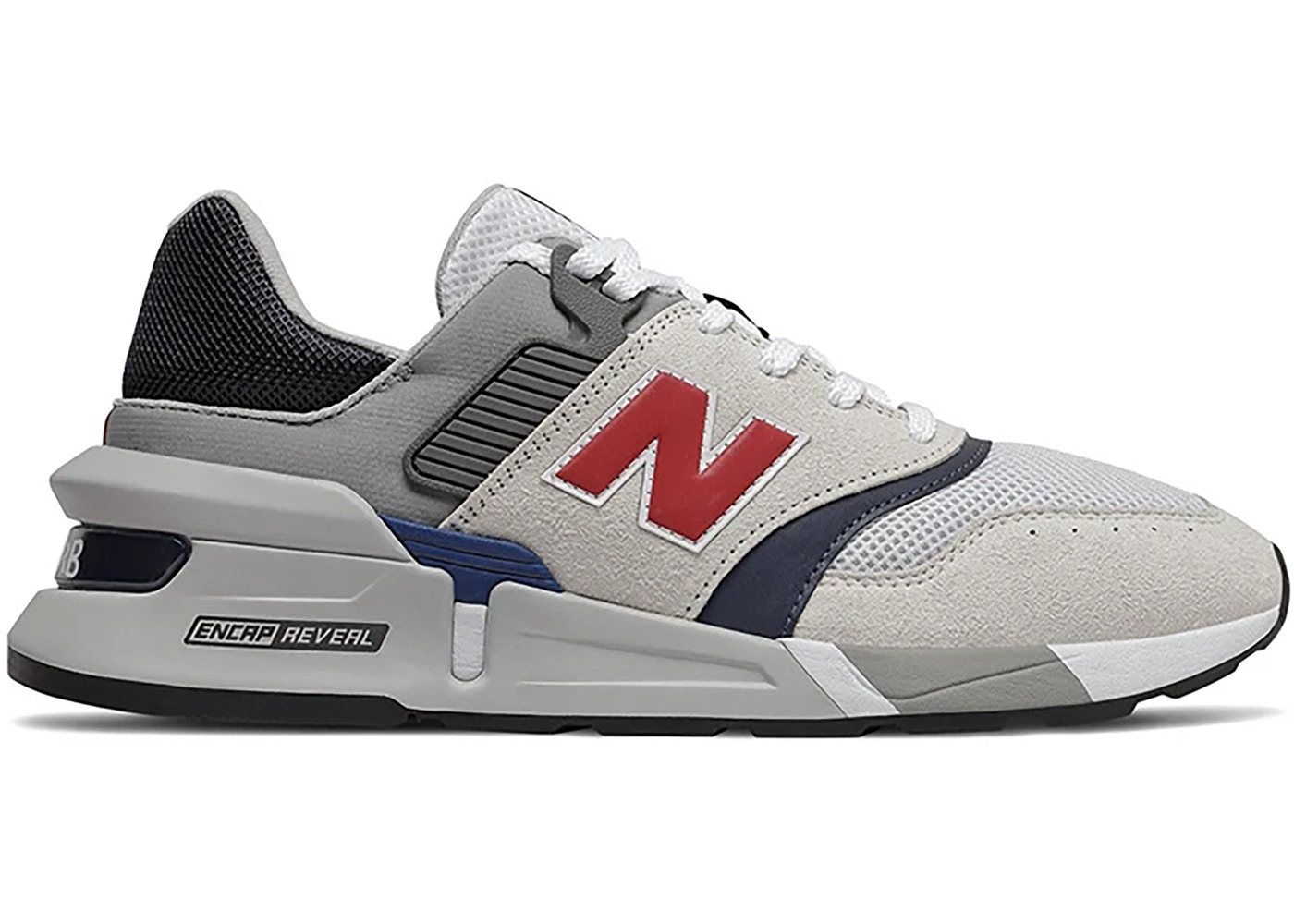 New Balance 997S Grey Navy Red