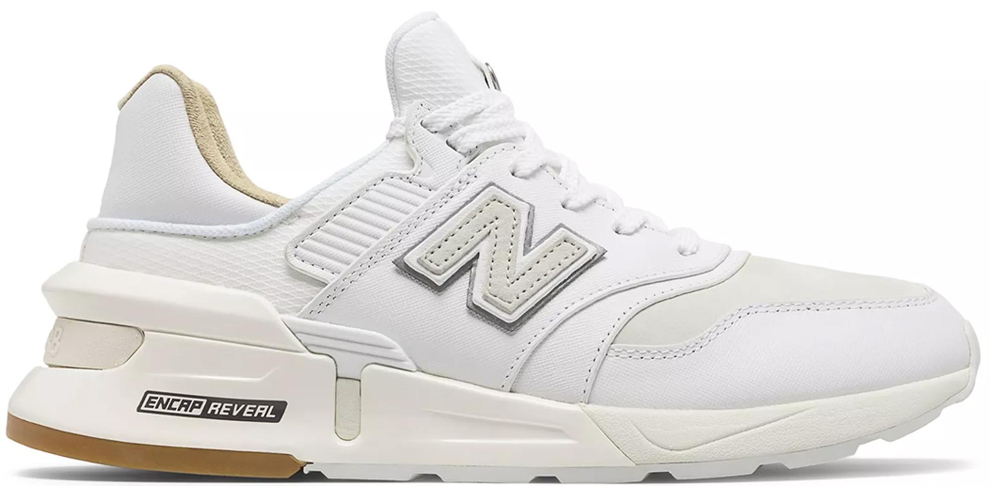 New Balance 997S Saffiano Leather White