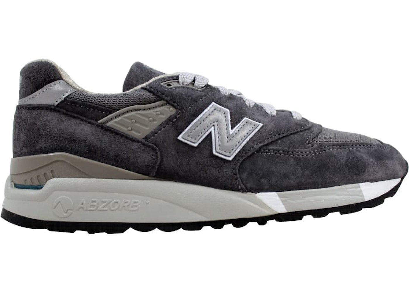 on sale 1b074 3276a New Balance 998 Grey/Charcoal (W)